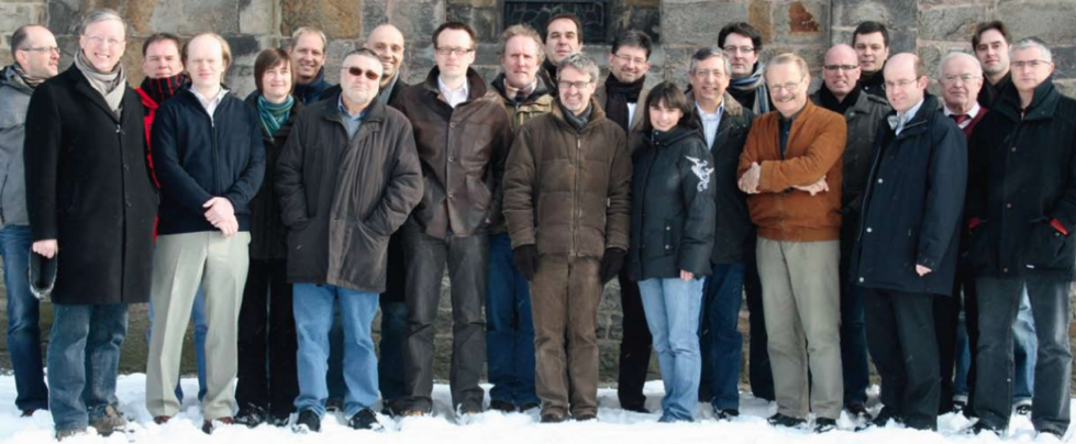 Group photo of the Department's professors