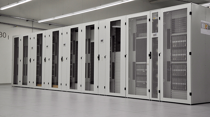 Photo of the new Supercomputer