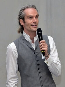 Malte Persike at the 2018 Talk Lehre event
